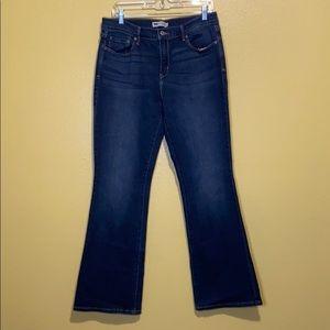 Levi's 515 Midrise Bootcut Jeans Size 12